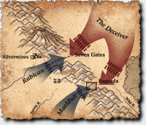 Forest Heart battle lines